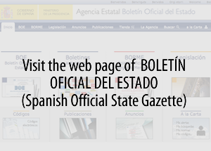 Visit Official Spanish Gazette